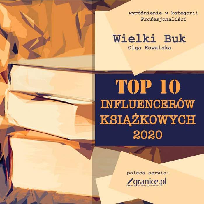 Najlepsi influencerzy książkowi według Granice.pl